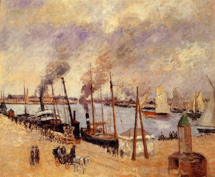 The Port of Le Havre 2, 1903 - Camille Pissarro
