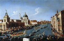 The Women s Regaton the Grand Canal - Canaletto