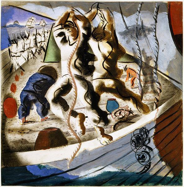 A descoberta da terra, 1941 - Candido Portinari