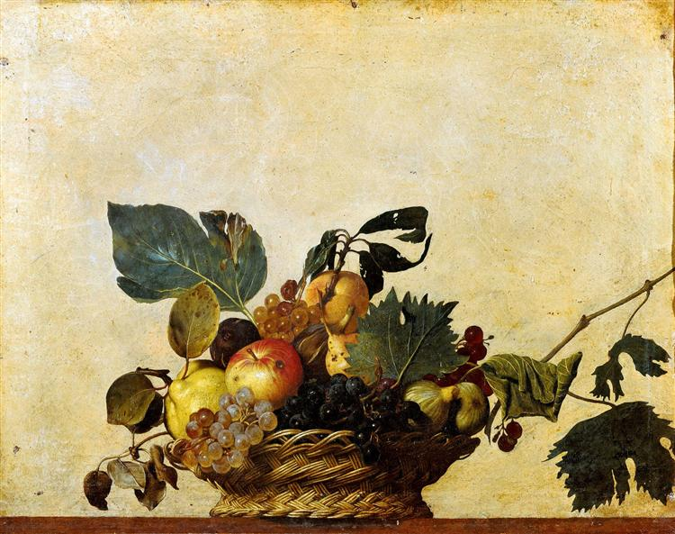 Basket of Fruit, c.1596 - Caravaggio