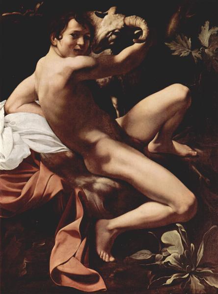 John the Baptist, 1602 - Караваджо