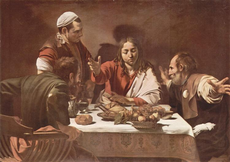Supper at Emmaus, 1602 - Caravaggio