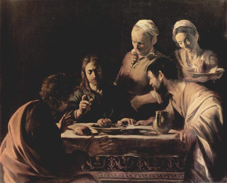 Supper at Emmaus, 1606 - Caravaggio