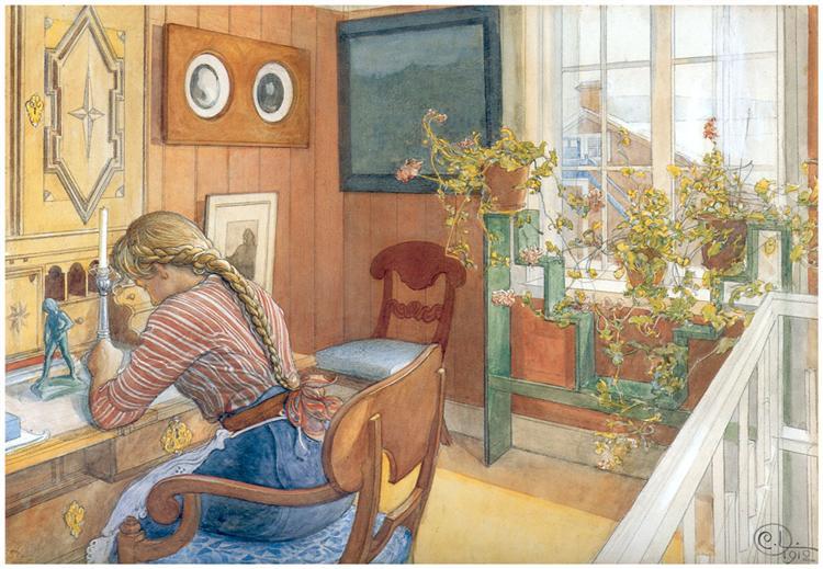 Correspondence, 1912 - Carl Larsson