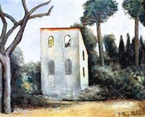 La casa abbandonata - Carlo Carra