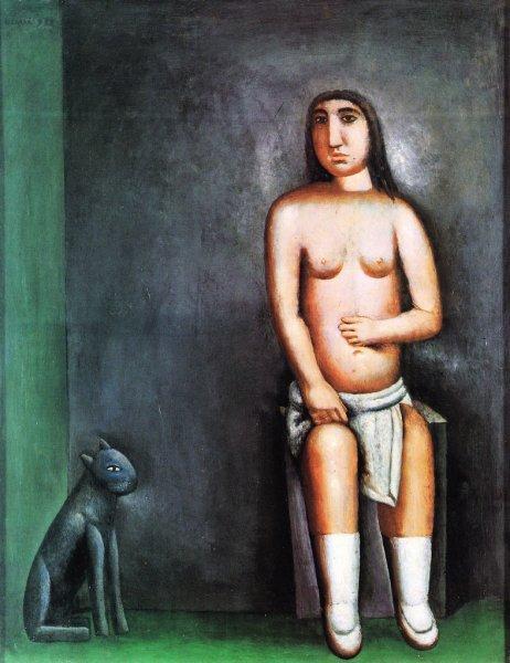 La casa dell'amore, 1922 - Carlo Carra