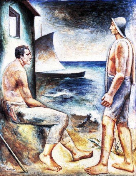 Pescatori, 1935 - 卡洛·卡拉