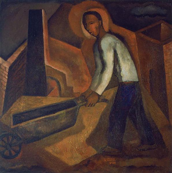 The Miner, 1929 - Carlos Orozco