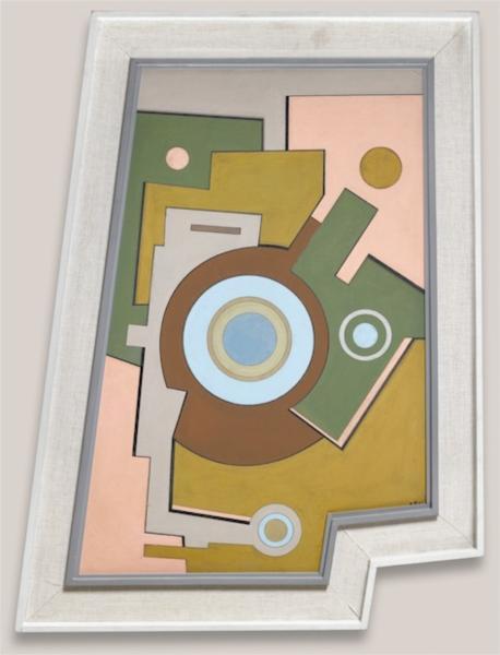 Blue Circle, 1947 - Carmelo Arden Quin