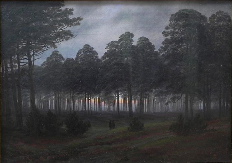 Evening, 1821 - Caspar David Friedrich