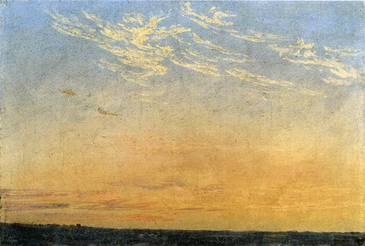 Evening, 1824 - Caspar David Friedrich