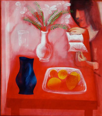 Breakfast nook, 1988 - Charles Blackman