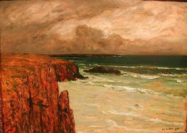 Sea Landscape in Brittany - Charles Cottet