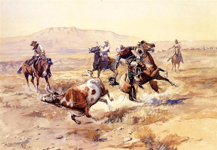 The Renegade, 1900 - Charles M. Russell