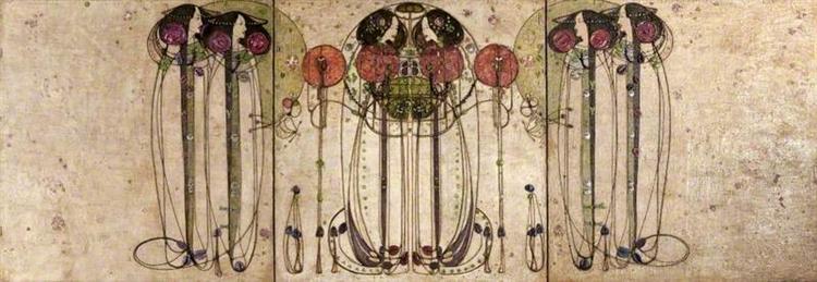 The Wassail, 1900 - Charles Rennie Mackintosh