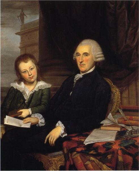 Governor Thomas McKean and His Son, Thomas, Jr., 1787 - Charles Willson Peale