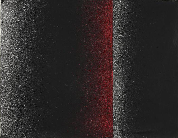 Sprayed Picture, 1964 - Charlotte Posenenske