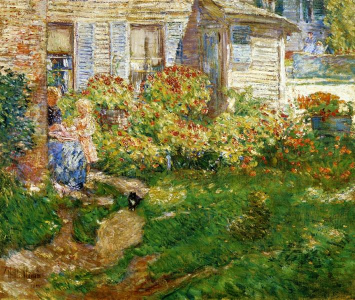 A Fisherman's Cottage, 1895 - Childe Hassam