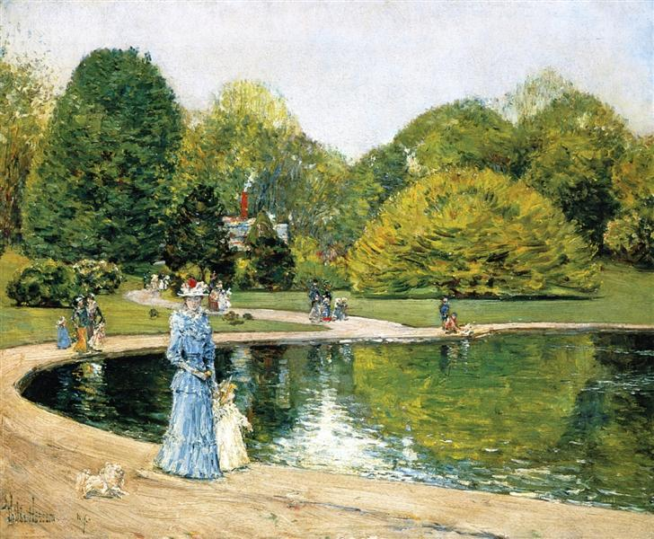 Central Park, 1892 - Childe Hassam