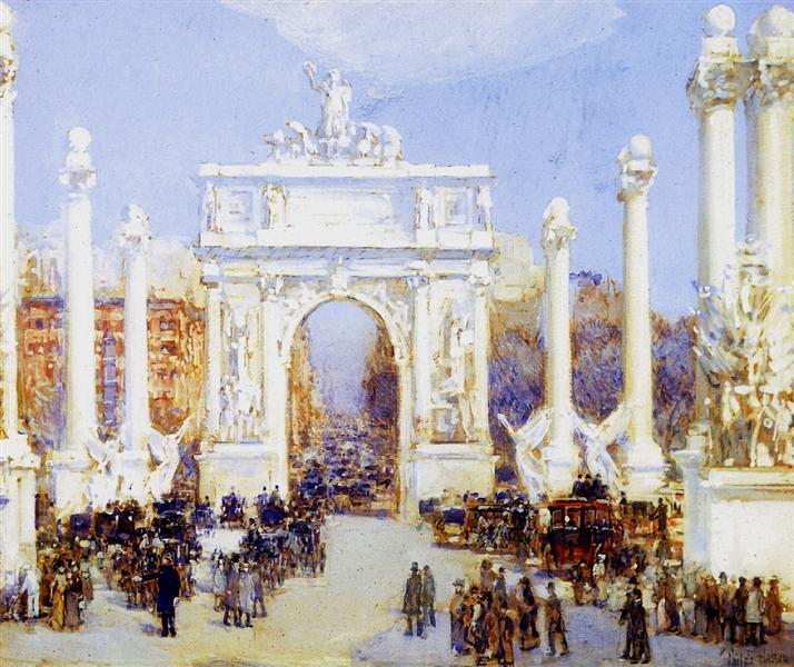 Dewey's Arch, 1900 - Childe Hassam