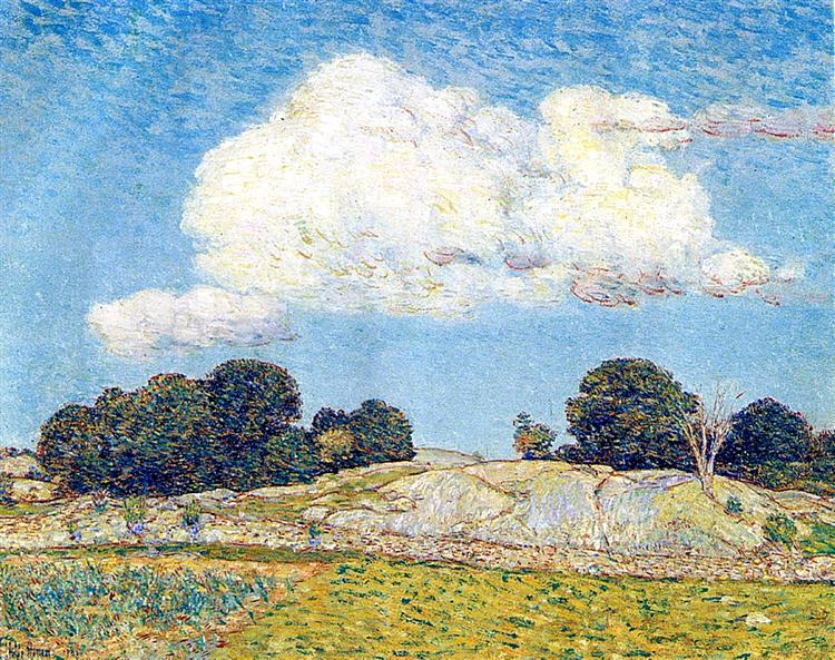 Dragon Cloud, Old Lyme, 1903 - Childe Hassam
