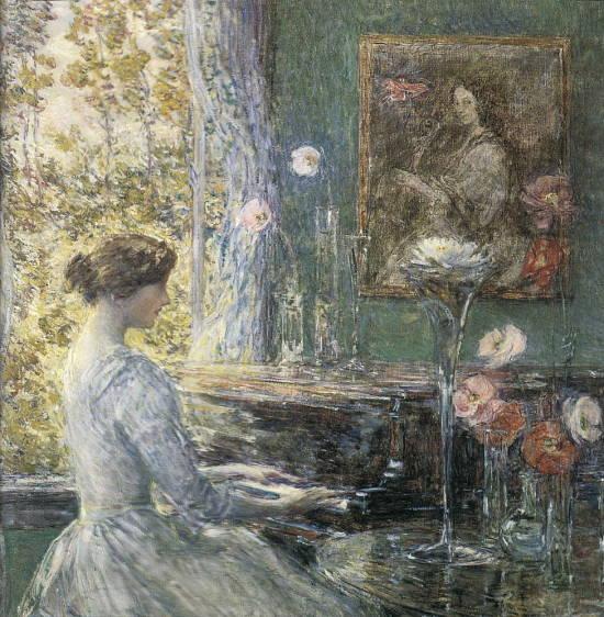 Improvisation, 1899 - Childe Hassam