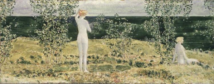 Montauk, 1921 - Childe Hassam