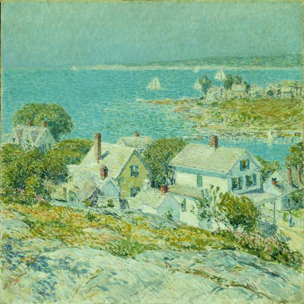 New England Headlands, 1889 - Childe Hassam