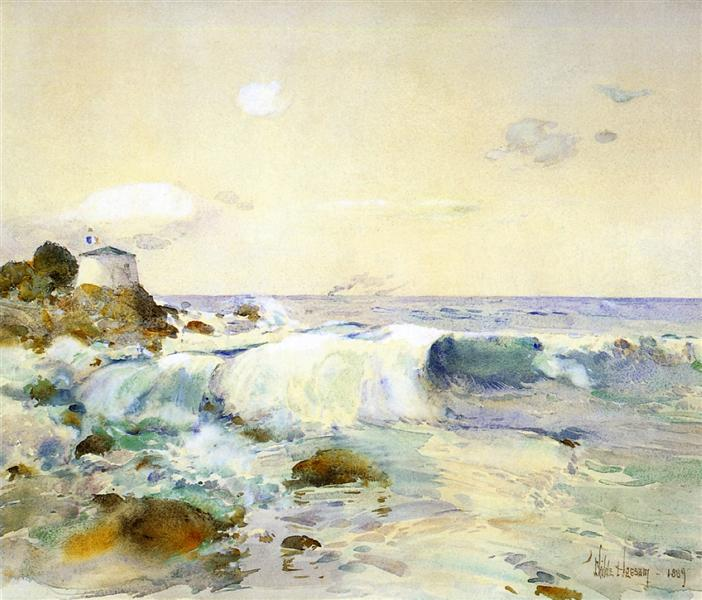 On the Brittany Coast, 1889 - Childe Hassam