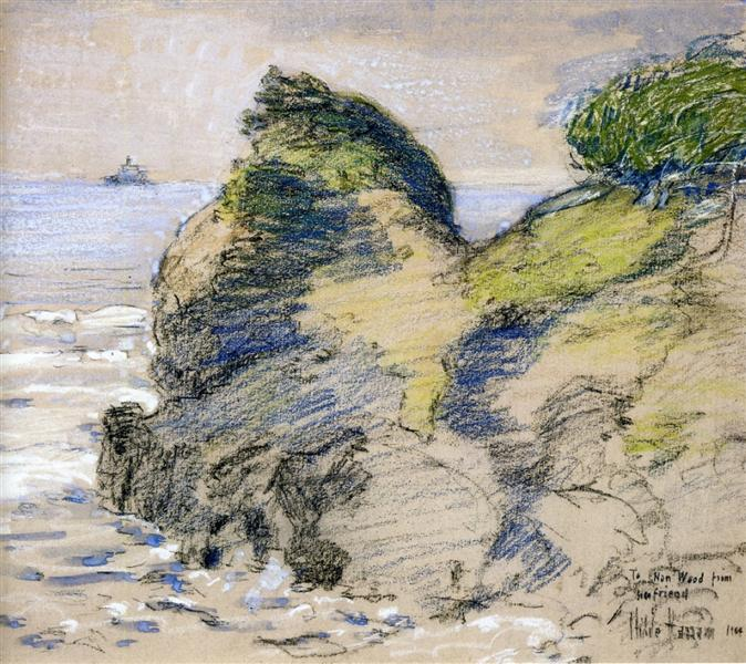 Oregon Coast, 1904 - Childe Hassam