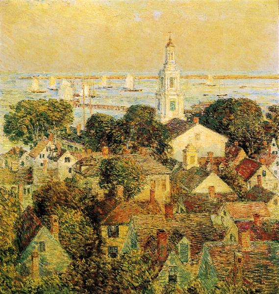 Provincetown, 1900 - Childe Hassam