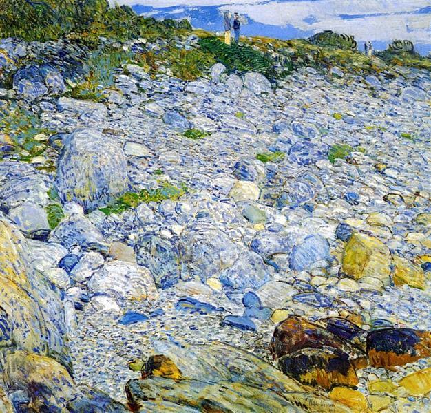 Rocky Beach, Appledore, 1913 - Childe Hassam