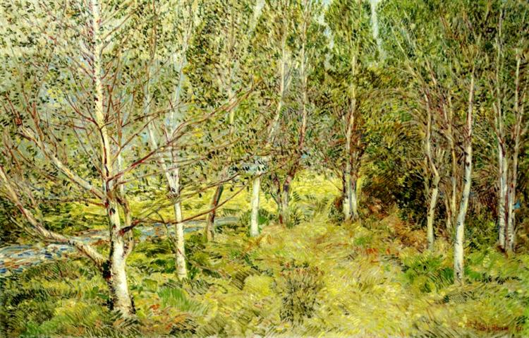 Spring Woods, 1921 - Childe Hassam