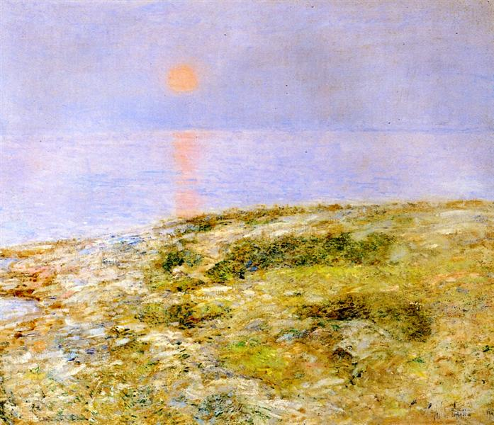 Sunset, Isle of Shoals, 1900 - Childe Hassam