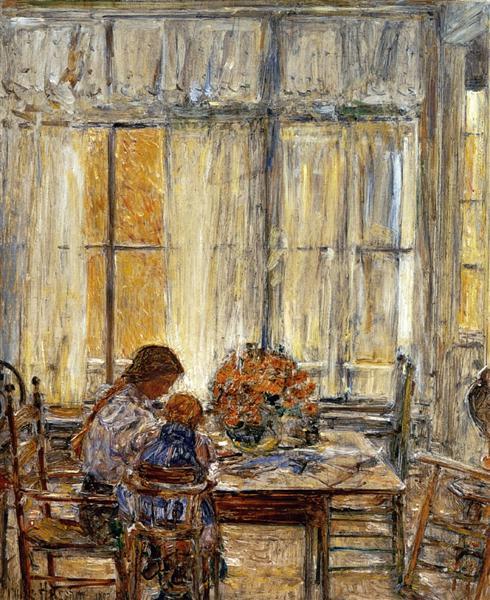 The Children, 1897 - Childe Hassam