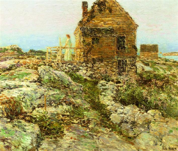 The Norwegian Cottage, 1909 - Childe Hassam