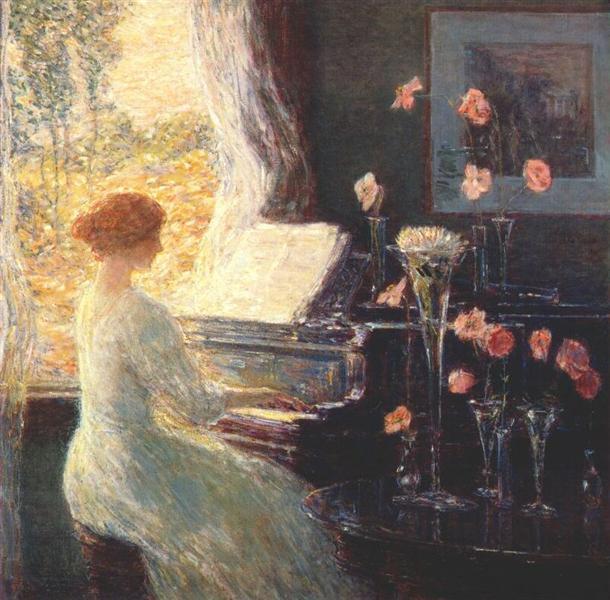 The Sonata - Childe Hassam