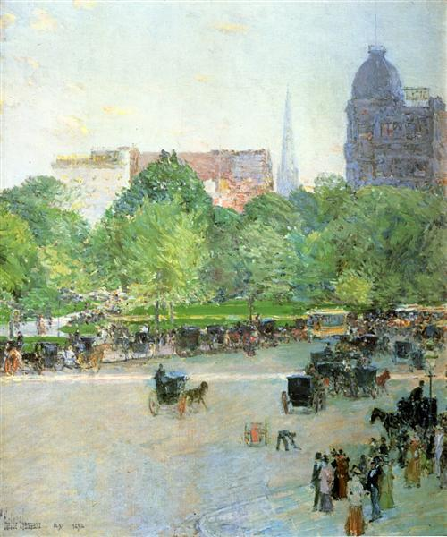 Union Square, 1892 - Childe Hassam