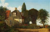 A Mansion near Øresund - Christen Købke