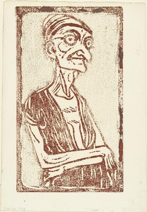 Sorceress (Hexe), 1910 - Christian Rohlfs