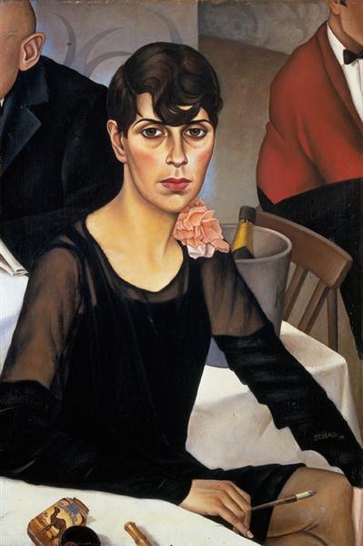 Sonja, 1928 - Christian Schad