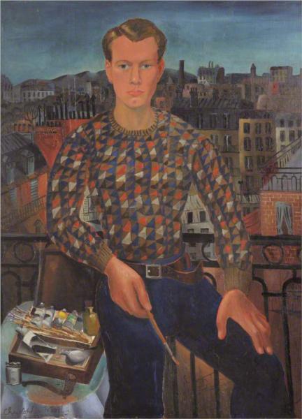 Self-portrait, 1927 - Christopher Wood