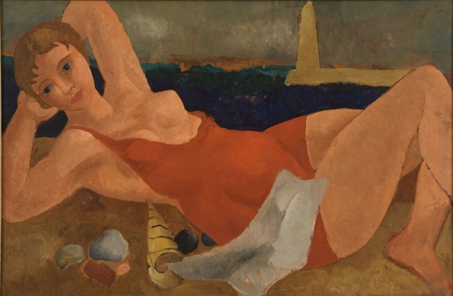 The Bather - Christopher Wood
