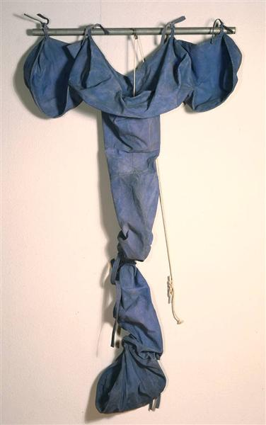 Soft Drainpipe - Blue (Cool) Version, 1967 - Claes Oldenburg