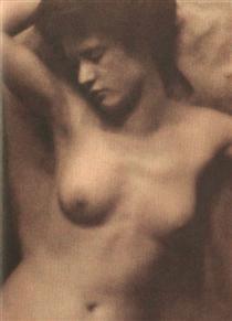 Torso (collaboration with Stieglitz) - Clarence White