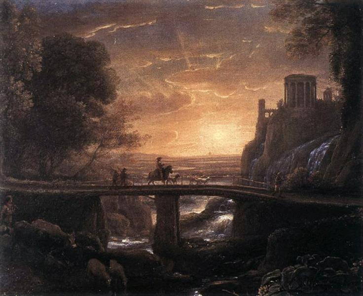 Landscape with an Imaginary View of Tivoli, 1642 - Claude Lorrain