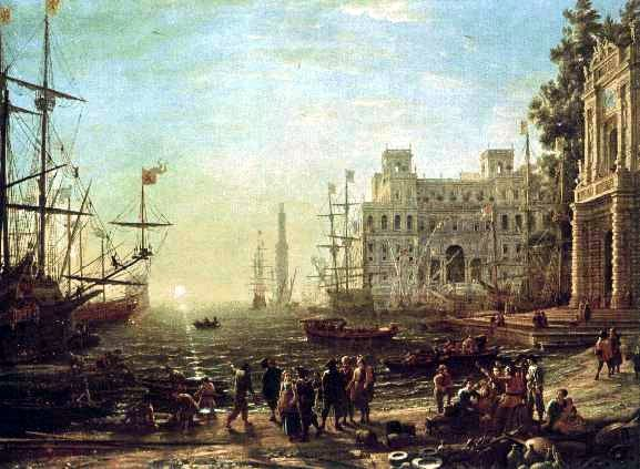 Seaport, 1638 - Claude Lorrain
