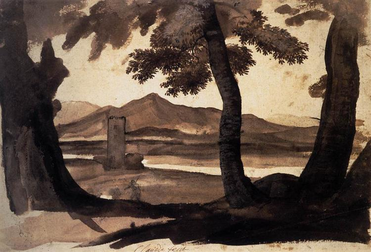 View of the Campagna, c.1669 - Claude Lorrain