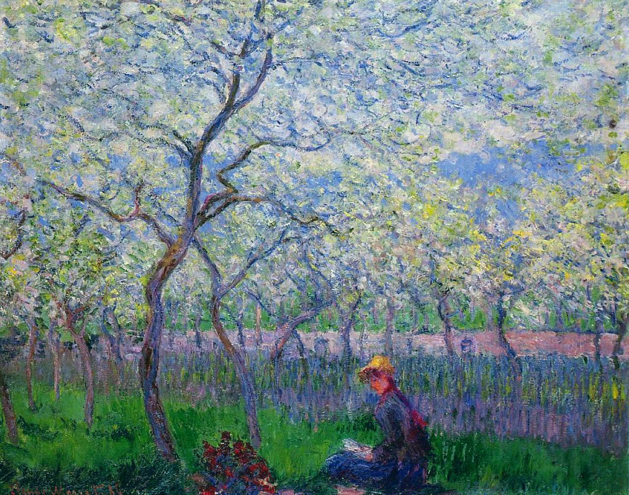 Обои Пейзаж, картина, Жуан-ле-Пен, Клод Моне. Разное foto 9