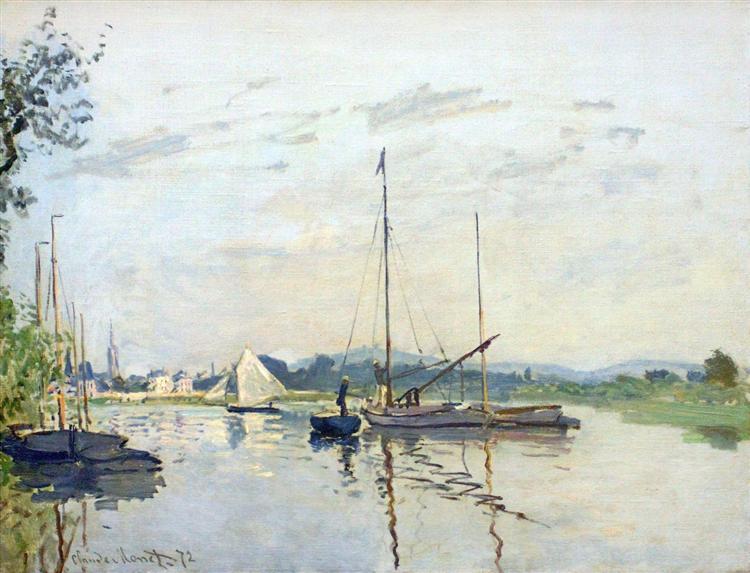 Argenteuil, 1872 - Claude Monet